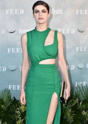 Alexandra Daddario - Women's Health and FEED's 6th Annual Party in Bridgehampton