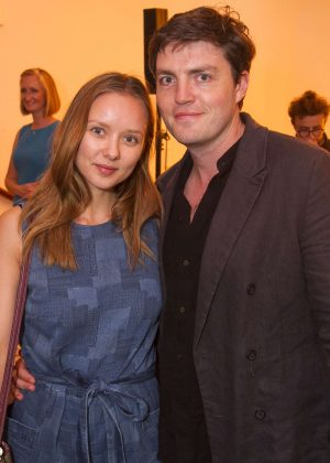 Alexandra Dowling - 'Girl from the North Country' Party in London