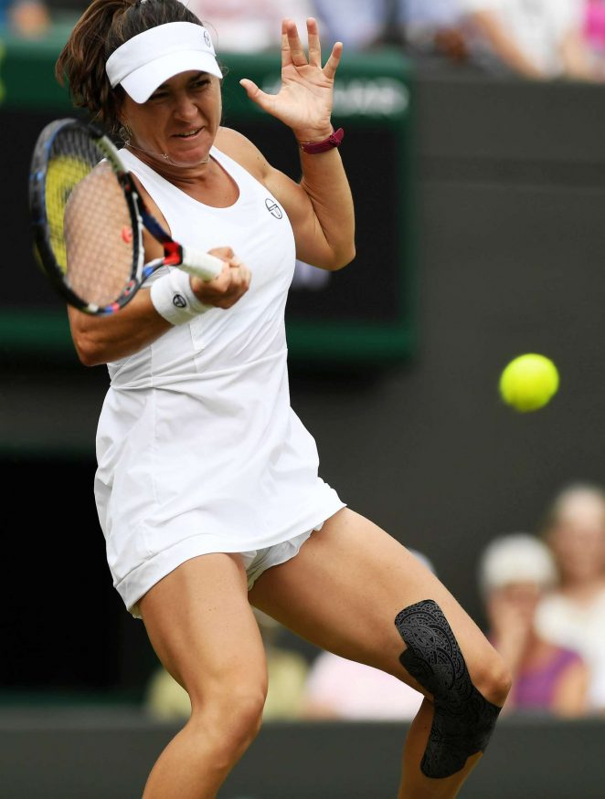 Alexandra Dulgheru - 2018 Wimbledon Tennis Championships in London Day 3