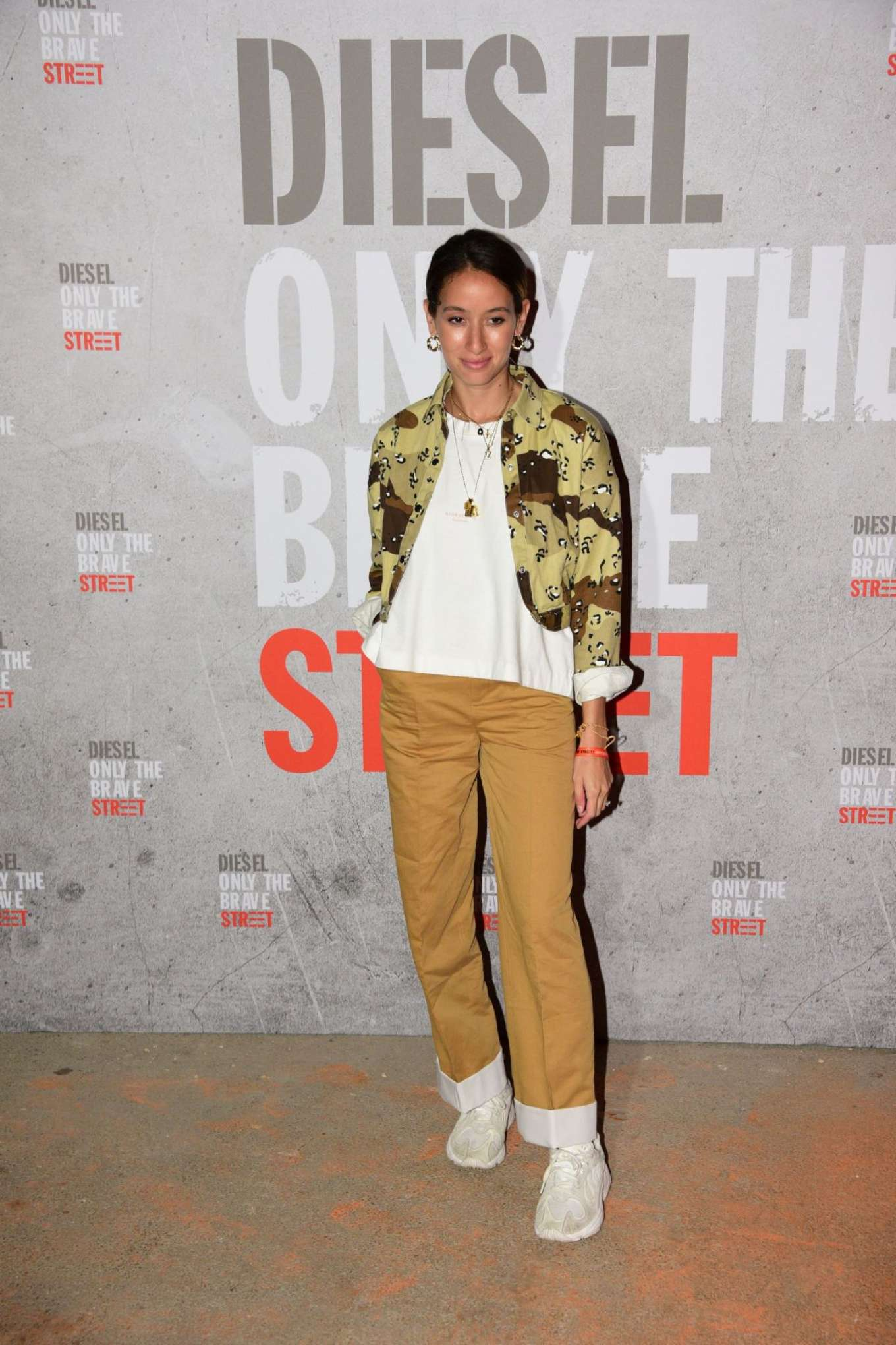 Alexandra Guerain 2018 : Alexandra Guerain: Diesel Fragrance Only The Brave Street Launch Party -01