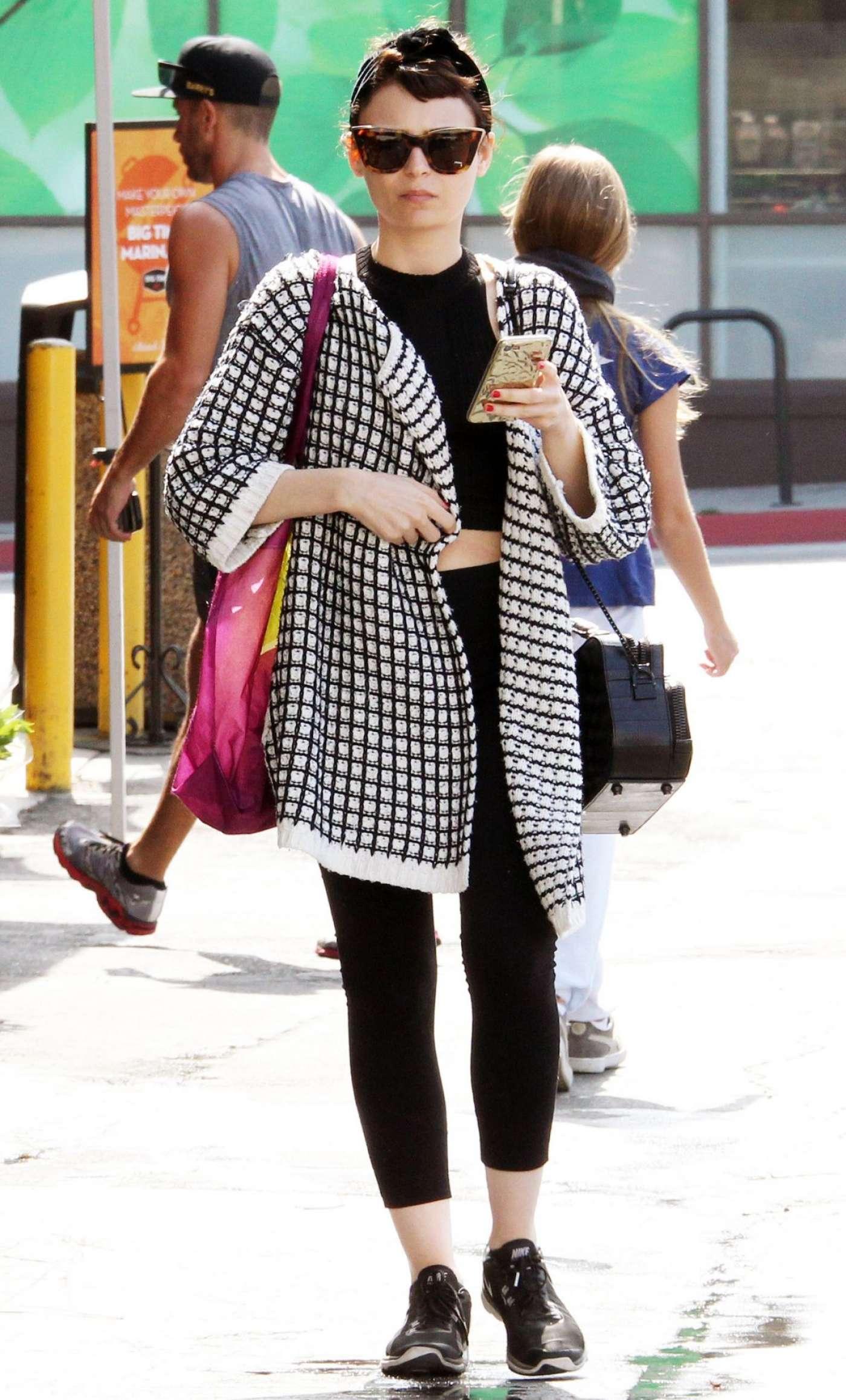 Alexandra Krosney Out Shopping West Hollywood Gotceleb