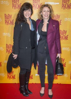 Alexandra Lamy & Melanie Doutey - 'Baby Phone' Premiere in Paris
