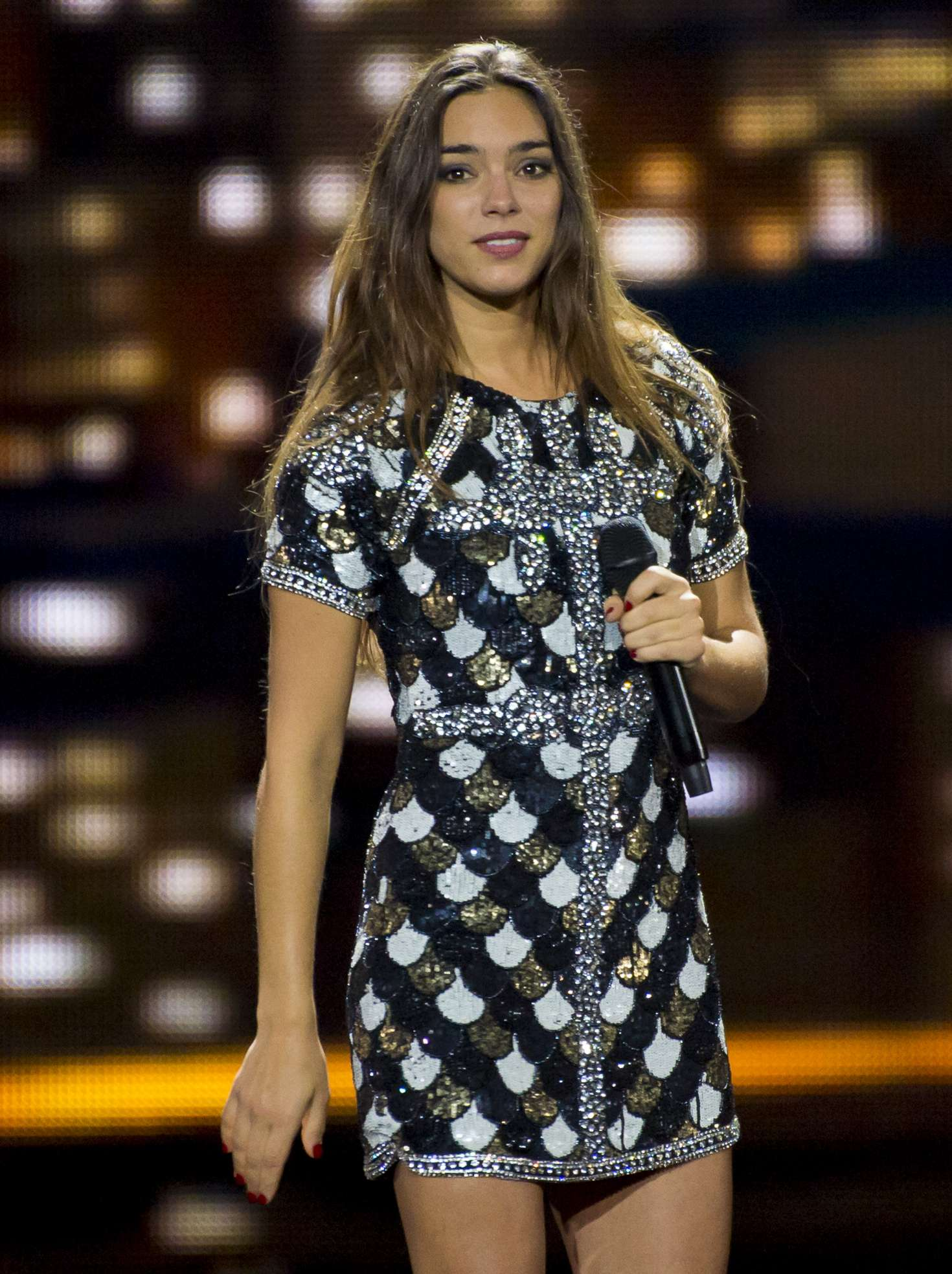 Alexandra Maquet - France Rehearsing at the Eurovision song contest 2017 in Kiev