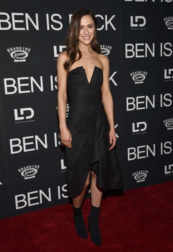 Alexandra Park: Ben Is Back Premiere in New York -01