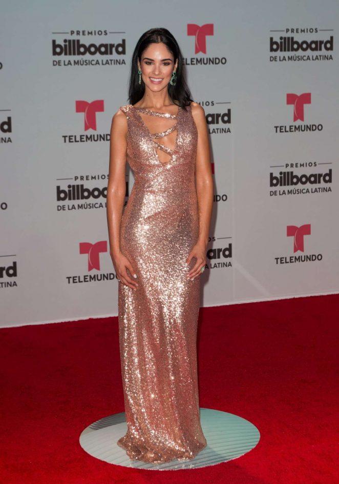 Alexandra Pomales - 2017 Billboard Latin Music Awards in Miami