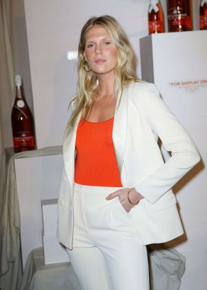Alexandra Richards - Moet & Chandon and Virgil Abloh New Bottle Collaboration Launch in NYC