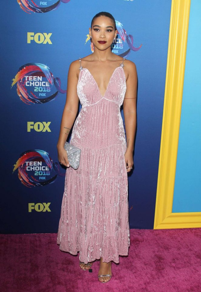 Alexandra Shipp - 2018 Teen Choice Awards in Inglewood
