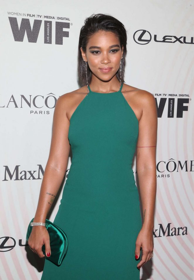 Alexandra Shipp - 2018 Women In Film Crystal and Lucy Awards in Los Angeles