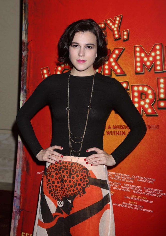 Alexandra Socha - Closing Night Party for Encores Hey, Look Me Over! in NY