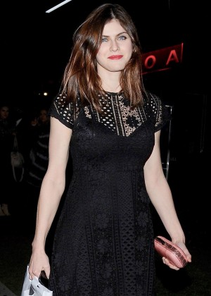 Alexandria Daddario - Leaving BOA Steakhouse in West Hollywood