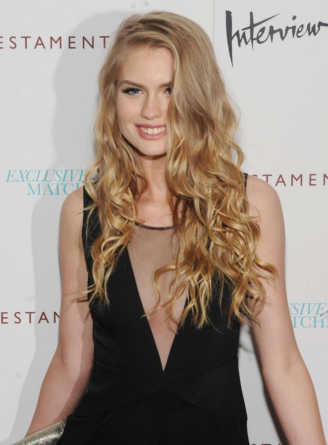 Alexandria Morgan - 'Testament Of Youth' Premiere in NYC
