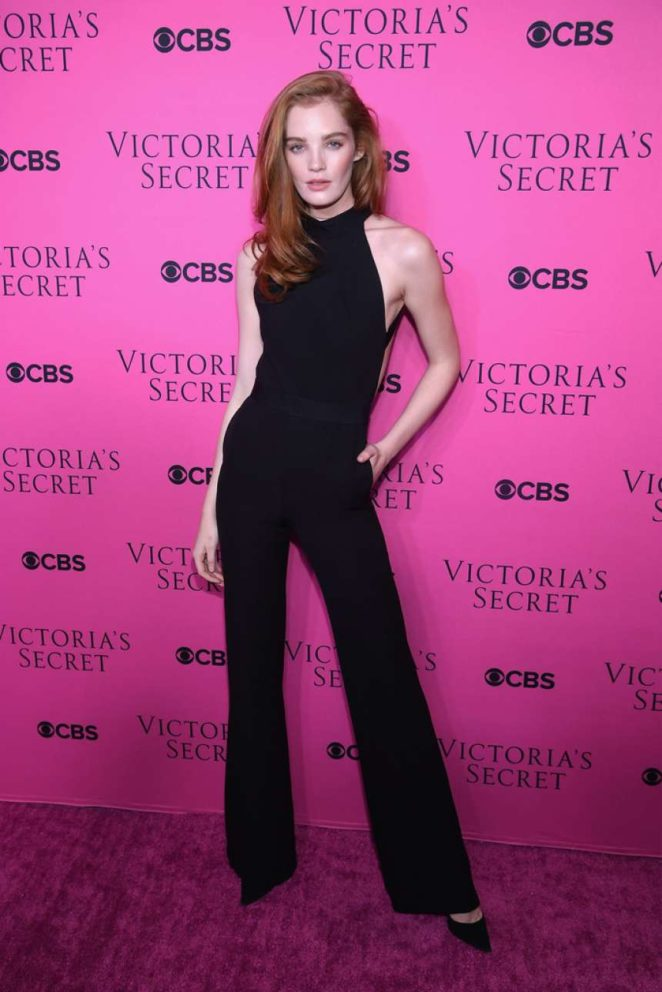 Alexina Graham - 2017 Victoria's Secret Viewing Party in New York City