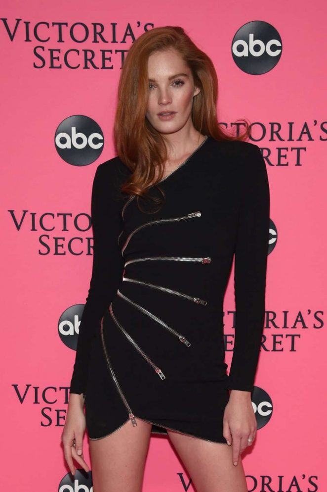 Alexina Graham - 2018 Victoria's Secret Viewing Party in New York