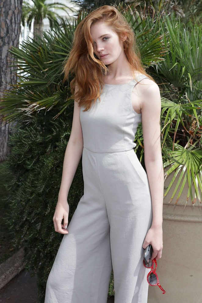 Alexina Graham at the Croisette in Cannes