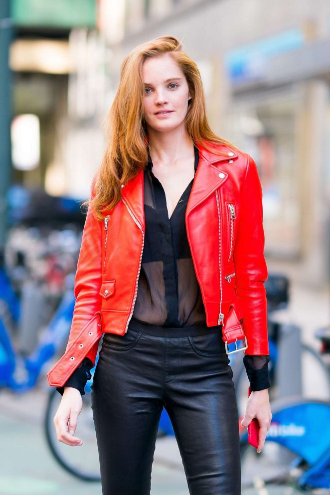 Alexina Graham - Victoria's Secret Fashion Show Fittings in NY