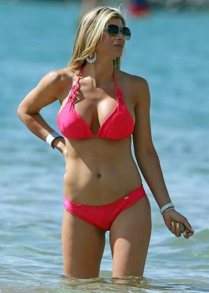 Alexis Bellino in Pink Bikini in Maui