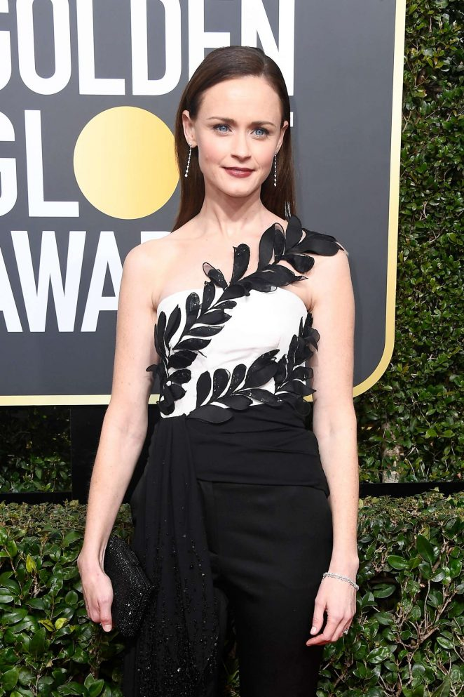 Alexis Bledel - 2018 Golden Globe Awards in Beverly Hills