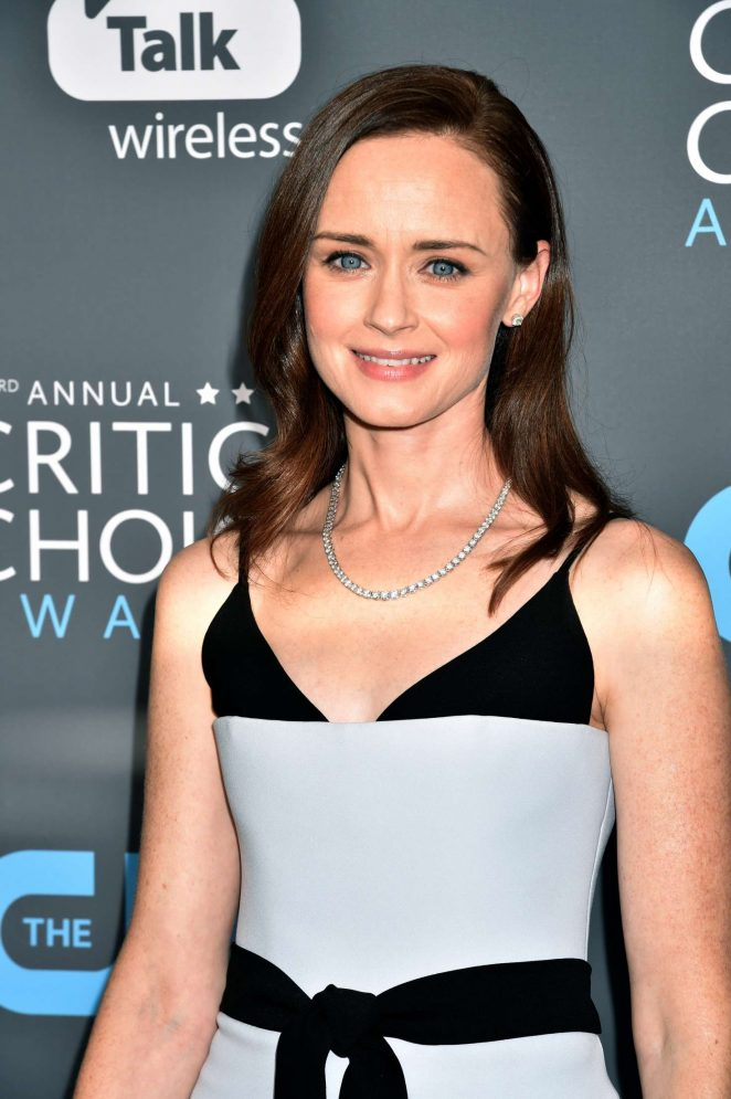Alexis Bledel - Critics' Choice Awards 2018 in Santa Monica
