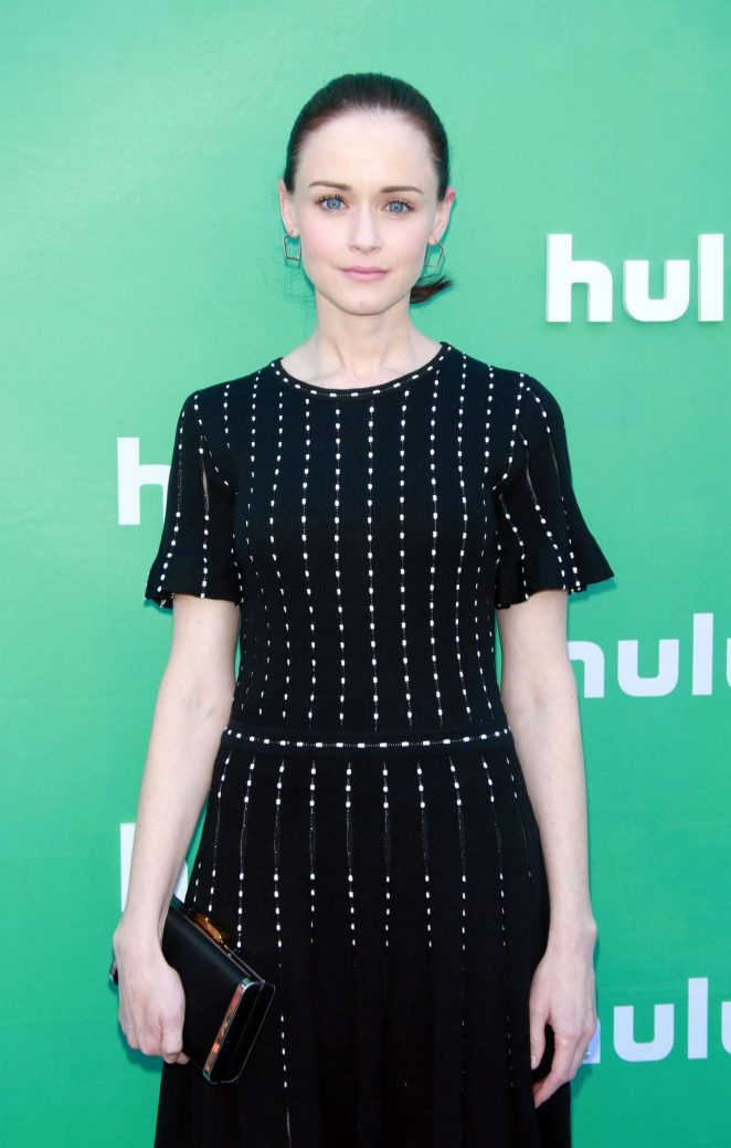 Alexis Bledel - Hulu Upfront Presentation in New York