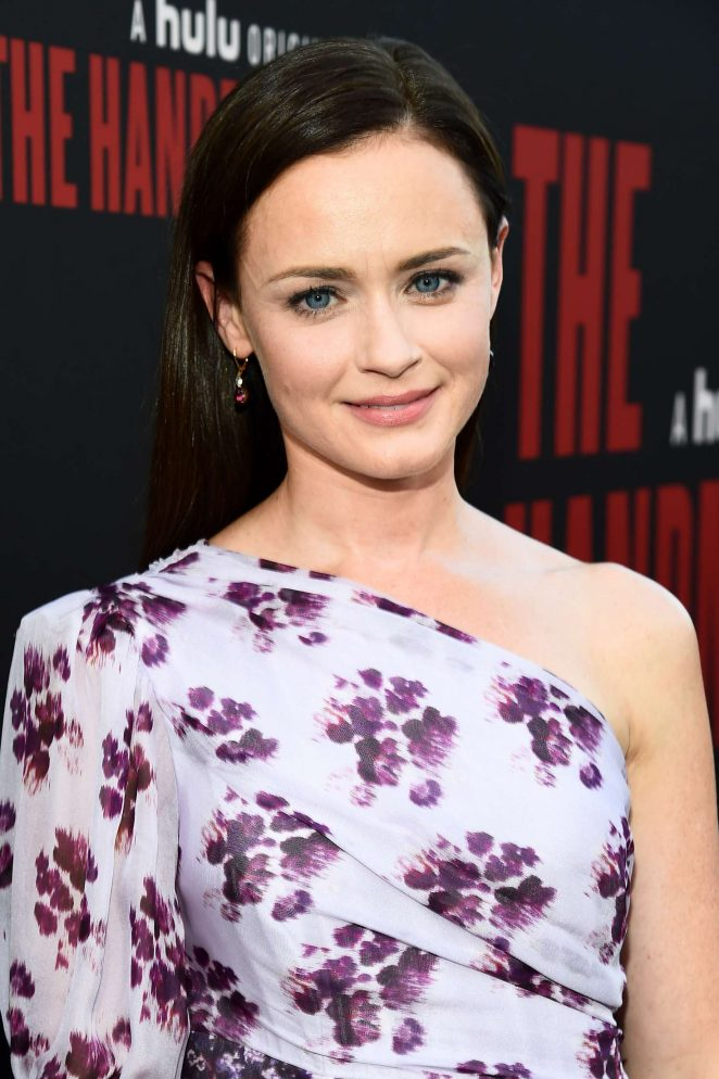 Alexis Bledel - 'The Handmaid's Tale' TV Show Finale in Los Angeles