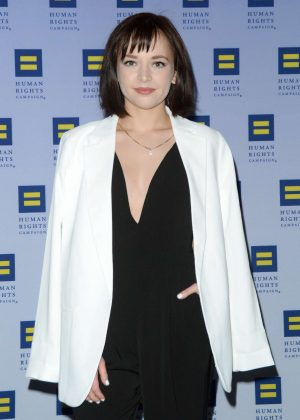 Alexis G. Zall - 2017 Human Rights Campaign Greater New York Gala in NY