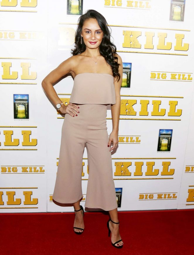 Alexis Joy - 'Big Kill' Premiere in Los Angeles