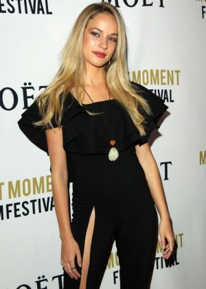 Alexis Knapp - 2018 Moet Moment Film Festival in LA