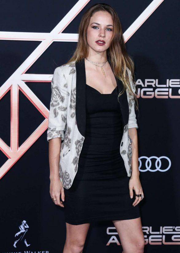 Alexis Knapp - 'Charlie's Angels' Premiere in Westwood