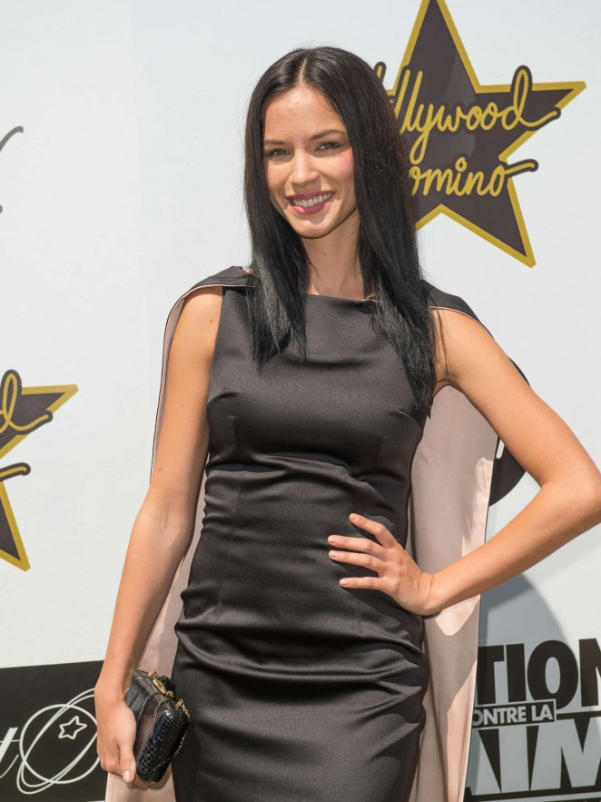 Alexis Knapp - Hollywood Domino Cannes Benefit in France