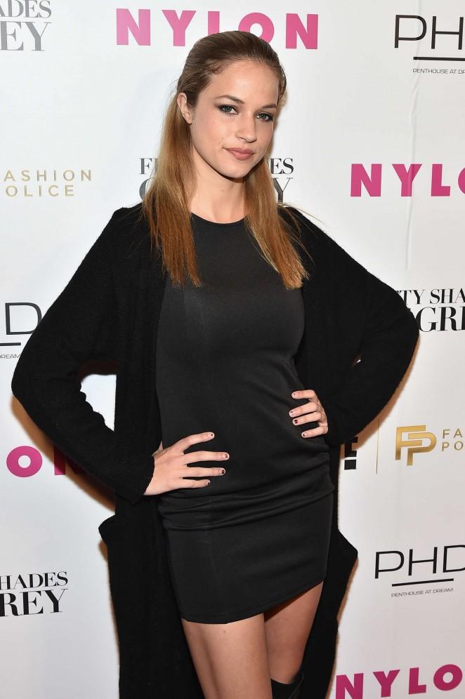 Alexis Knapp - NY Fashion Week Kickoff With Fifty Shades Of Fashion Event in NY