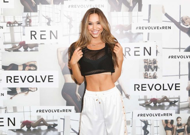 Alexis Ren: Active x Revolve Launch -08