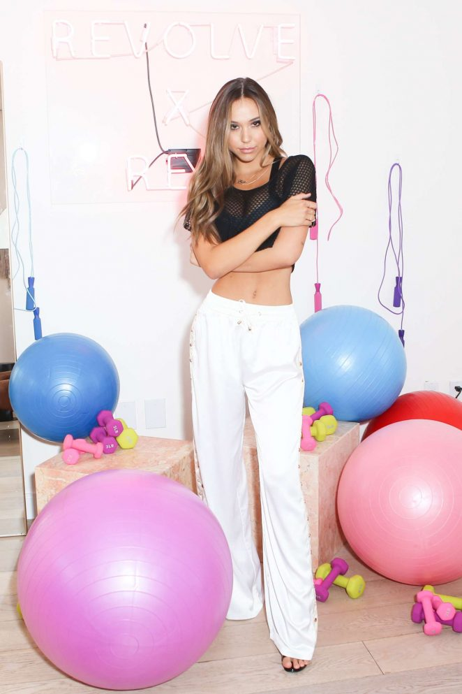 Alexis Ren: Active x Revolve Launch -24