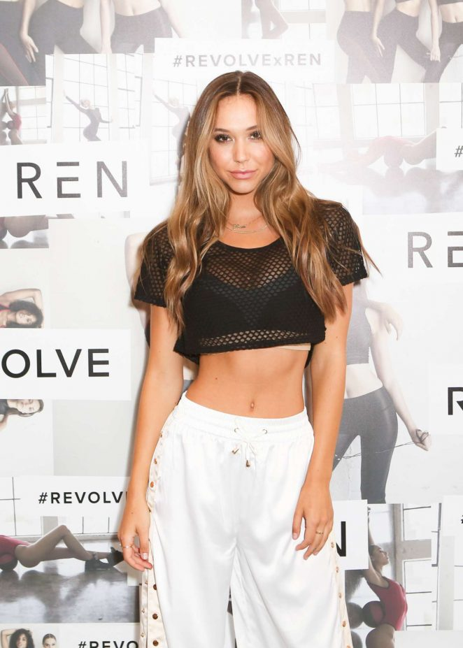 Alexis Ren - Active x Revolve Launch in LA
