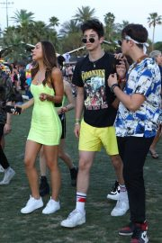 Alexis Ren and Milo Manheim at 2019 Coachella in Indio