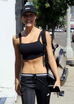 Alexis Ren - Arriving at Dancing With The Stars Rehearsals in Hollywood