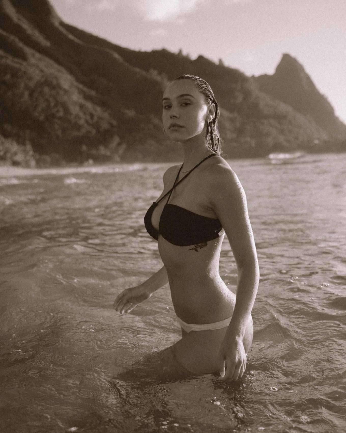 Alexis Ren - Beach by Jack Elias Photoshoot (June 2020)