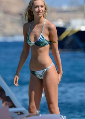 Alexis Ren - Bikini Candids in Mykonos adds