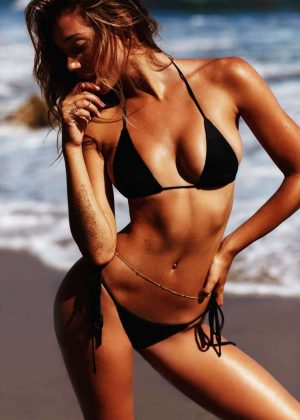 Alexis Ren by Josie Clough Bikini Photoshoot