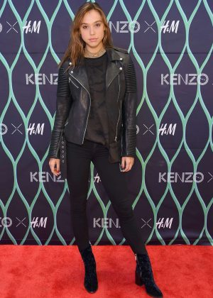 Alexis Ren - KENZO X H&M VIP Pre-Launch in New York
