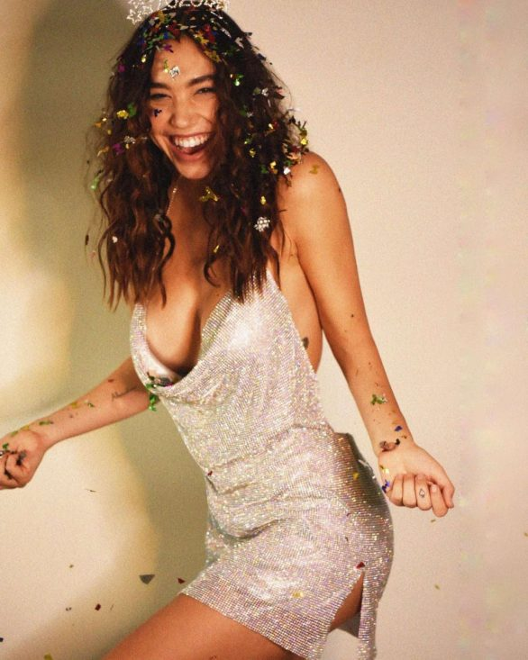 Alexis Ren - New Year's Eve Photoshoot by Melissa Cartagena 2020