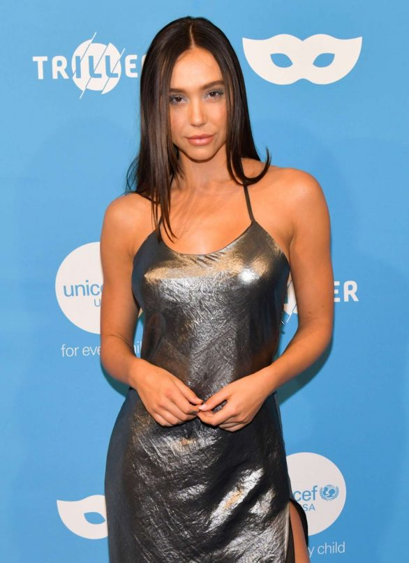 Alexis Ren - UNICEF Masquerade Ball 2019 in West Hollywood