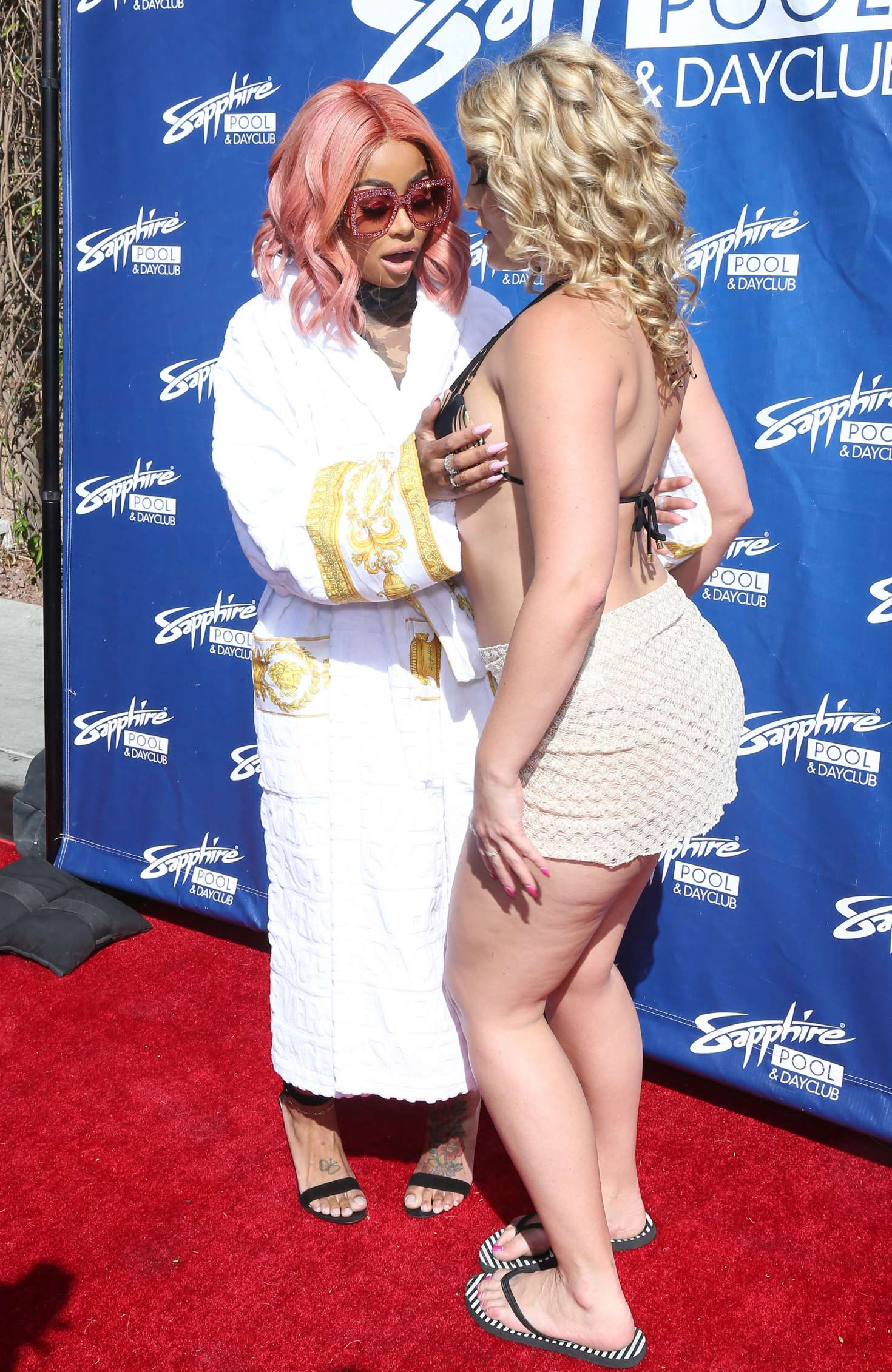 alexis texas - blac chyna hosts the afternoon at sapphire pool in