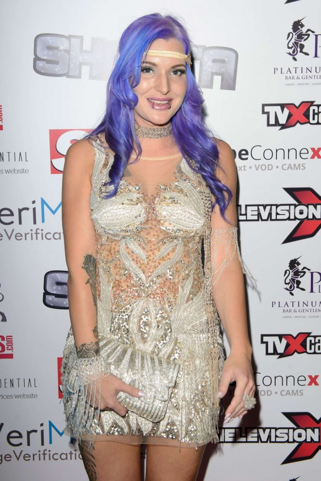 Alexxxa Vice - Television X SHAFTA Adult Awards 2016 in London