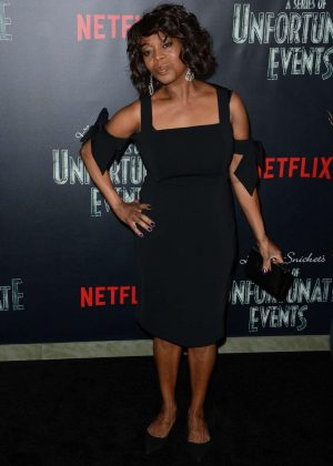 Alfre Woodard - 'Lemony Snicket's A Series Of Unfortunate Events' Screening in NY