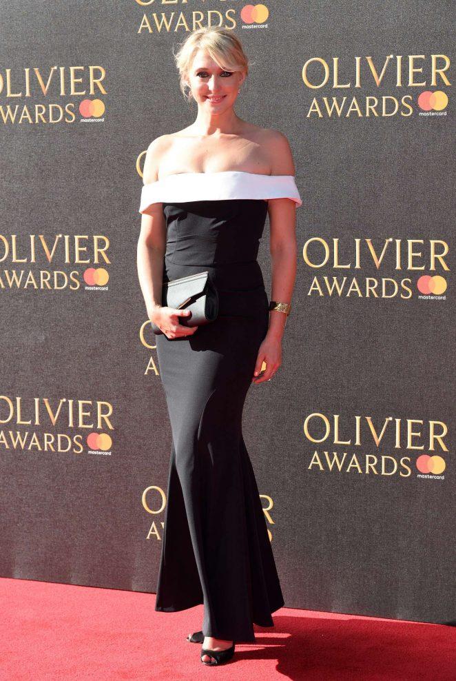 Ali Bastian 2017 : Ali Bastian: 2017 Olivier Awards -06