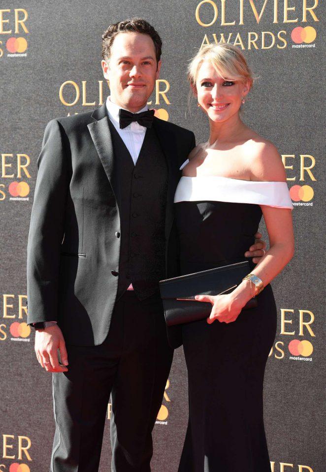 Ali Bastian 2017 : Ali Bastian: 2017 Olivier Awards -11