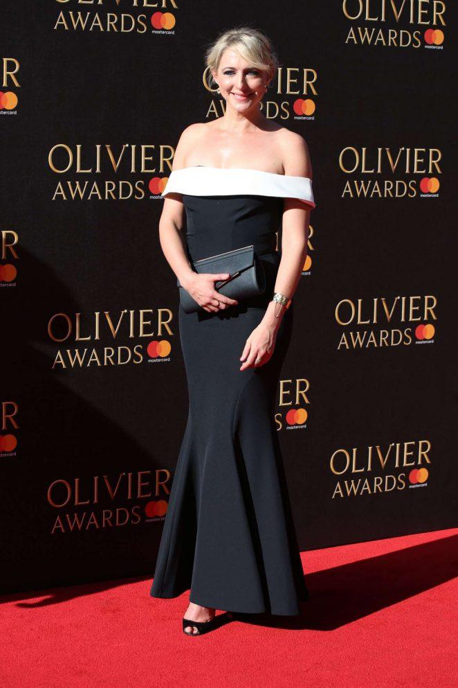 Ali Bastian 2017 : Ali Bastian: 2017 Olivier Awards -12