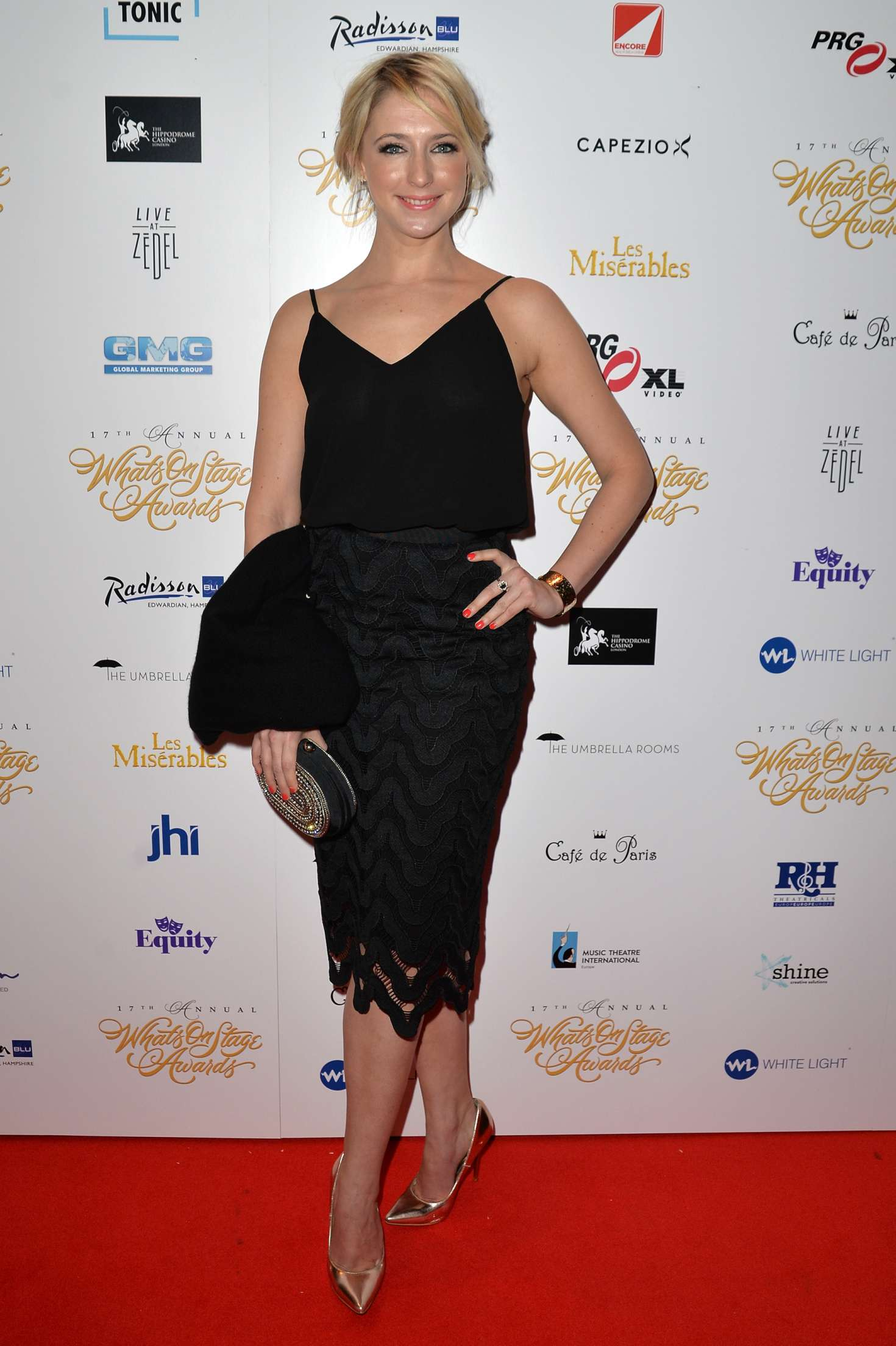 Ali Bastian - 2017 WhatsOnStage Awards Concert Awards in London