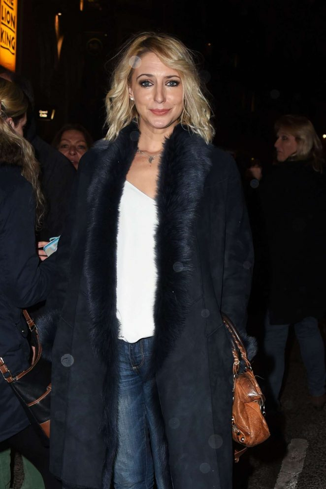 Ali Bastian - Attends a Christmas Carol in London