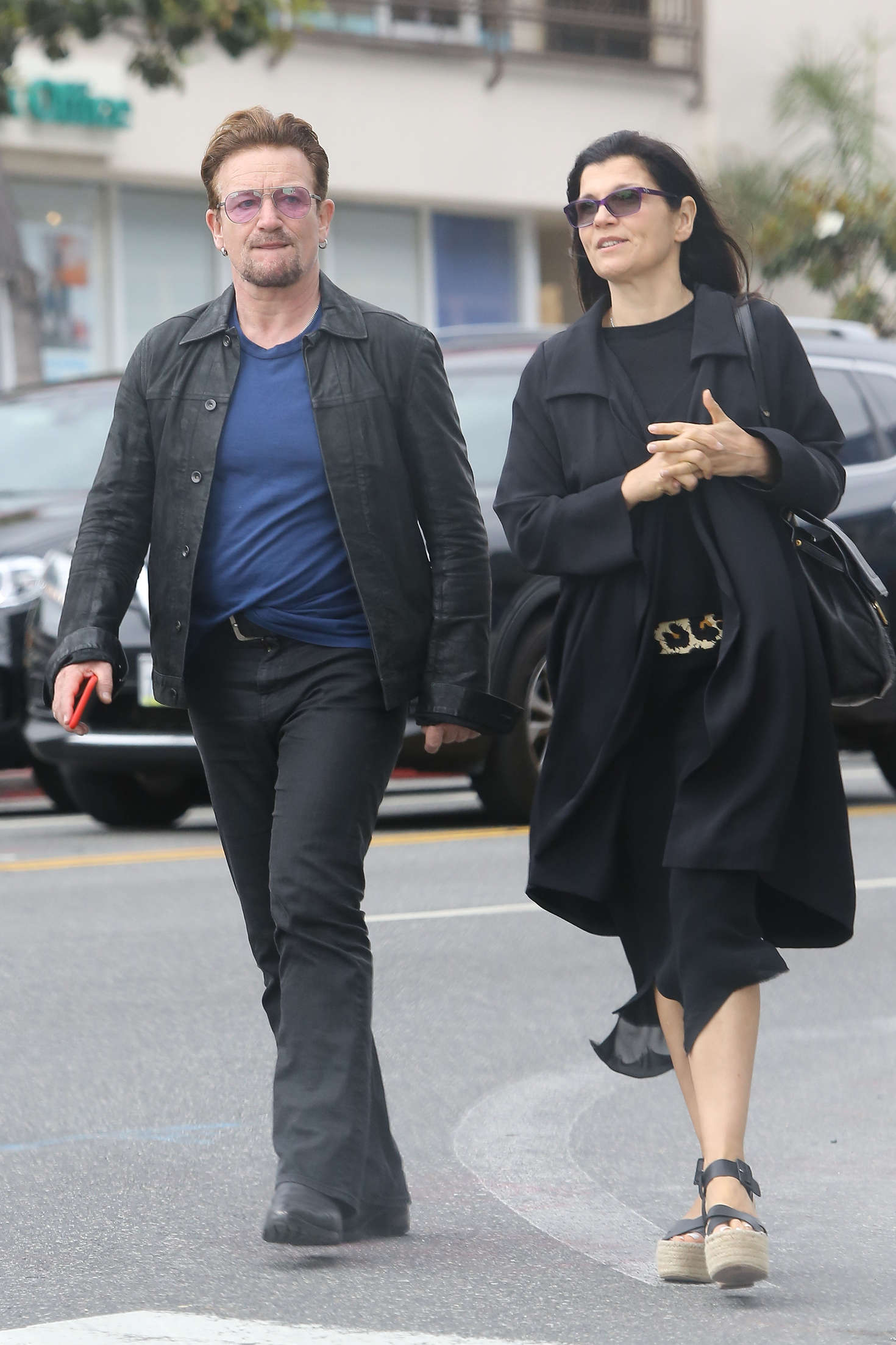 Ali Hewson out in West Hollywood